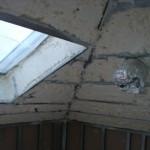 skos z oknem dachowym